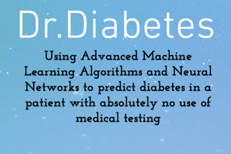 Using Machine Learning to Prevent Diabetes
