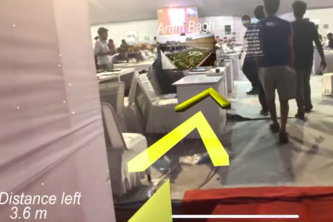 TagAR -media tagging and indoor navigation in AR