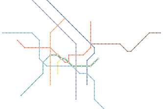 Automated Transit Maps
