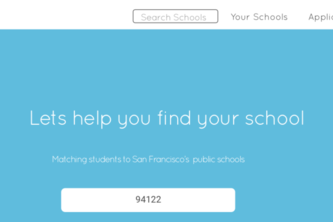 SF School Finder