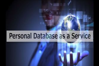 PDaaS (Personal Database as a Service)