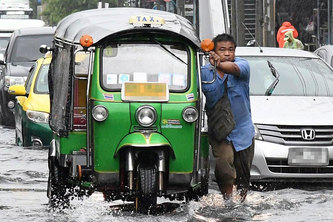 Bangkok Road Flooding Bot