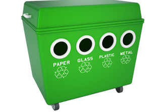 Recycling locator