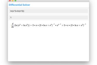 Differential equation solver