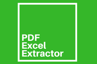 UiPath PDF to Excel Extractor