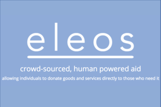 Eleos - Trading Goods and Services after a Disaster