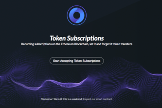 Token Subscription