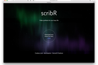 Team Two Presents: Scribr