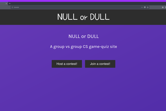 NULL or DULL