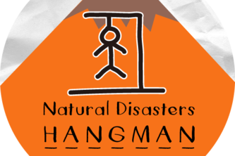 Natural Disasters Hangman (with display)