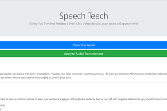 Speech Teech