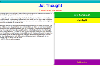 Jot Thought