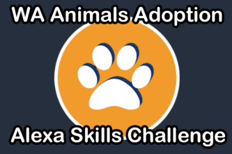 WA Animals Adoption: Alexa Skill