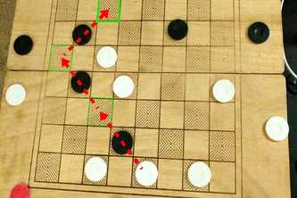 Augmented Checkers