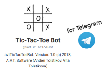 avtTicTacToeBot project on Python 3