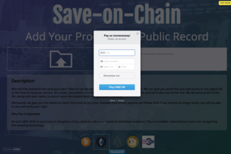 Save-on-chain