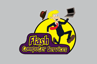Flash Computer Services Logo