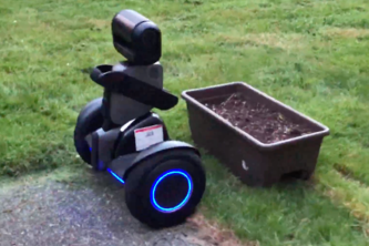 dew•E - Gardening in AR with robot tasking.