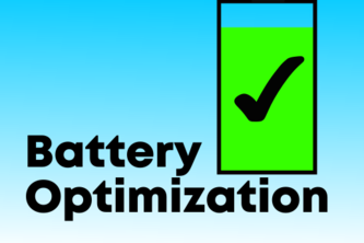Battery Optimization for Unity