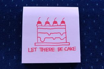 Let There Be Cake