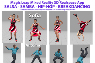 DANCE CRAZE MAGIC LEAP APP