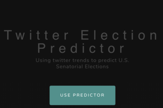Twitter Election Predictor