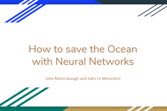 Saving the Ocean with Neural Networks