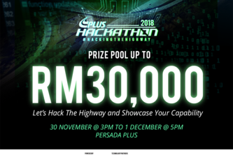 PLUS HACKATHON 2018 : Hacking the Highway