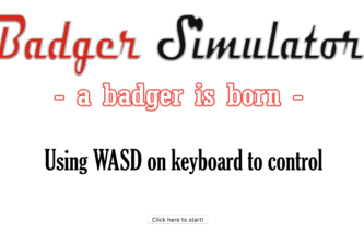 Badger Simulator