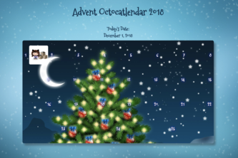 Advent Octocatlendar