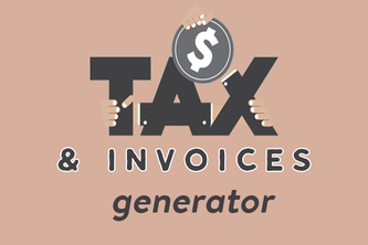 Invoice and Tax Generator