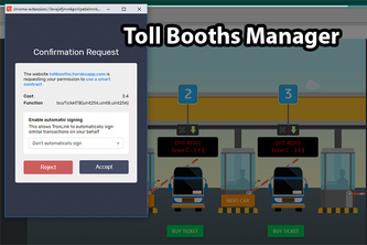 Toll Booths Manager