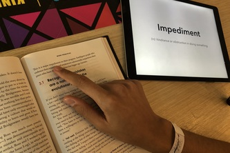 DS-BookWorm—a new, natural way to read.
