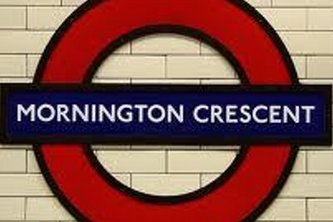 Mornington Crescent on a Map