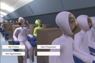 Flight Simulator but you're the passenger