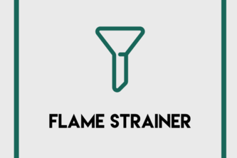 Flaming Strainer