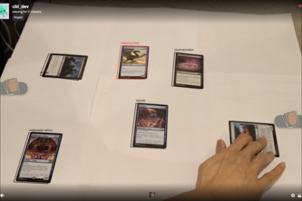 Image recognition & card analysis for tabletop games