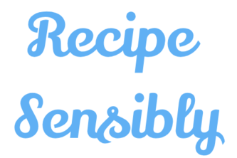 Recipes, Sensibly