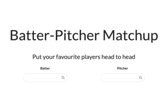 Pitcher Batter Matchup