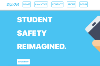 SignOut NJRSF - School Safety with SaaS & Data Science