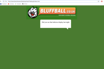 Bluffball