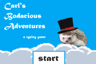 Carl's Typing Adventure