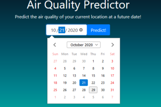 Air Pollution Predictor