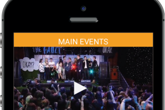 BROKEN BARRIERS Events streaming app