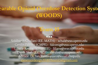 Wearable Opioid Overdose Detection System (WOODS)