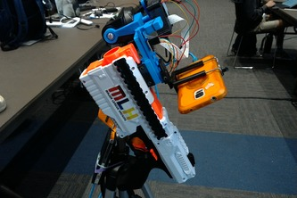 Nerf Gun Aim Assist Vision AI Distance Measurement and