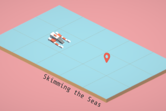 Skimming the Seas (18-D)
