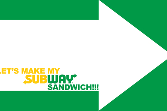 Let's make my SUBWAY sandwich