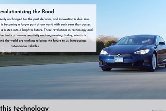 Autonomous Vehicle Website