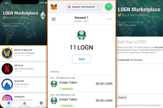 LOGN Marketplace - Buy & Sell Credentials